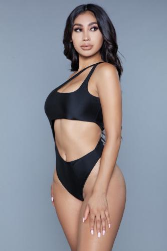 Quinn Badpak - Zwart