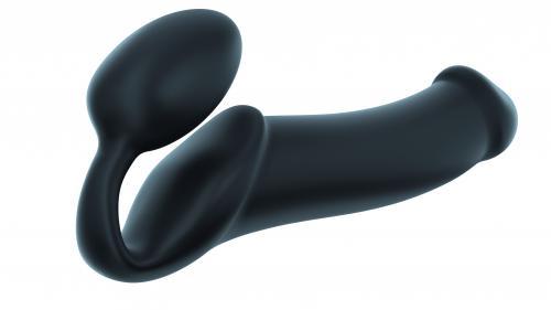 Strap On me - Strapless Voorbind Dildo - Maat XL - Zwart