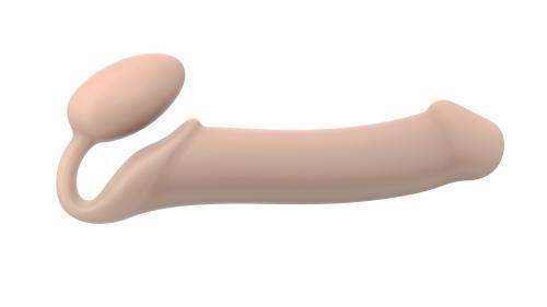 Strap On Me - Strapless Voorbind Dildo - Maat XL - Beige