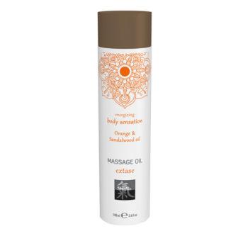 Extase Massage Olie - Sinaasappel & Sandelhout