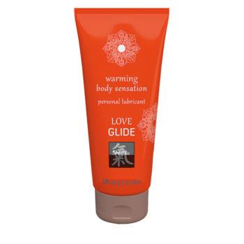 Love Glide Verwarmend Waterbasis Glijmiddel - 100 ml