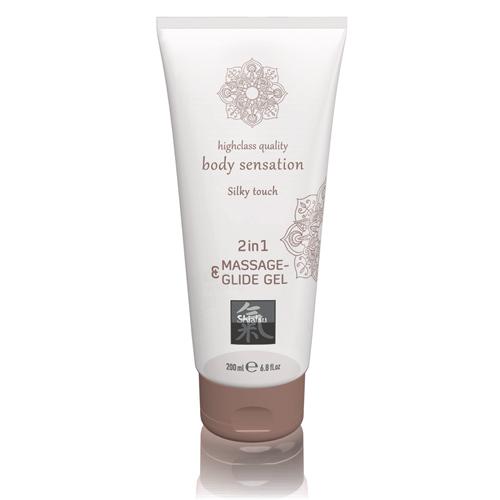 Massage- & Glide Gel 2 in 1 - Silky touch