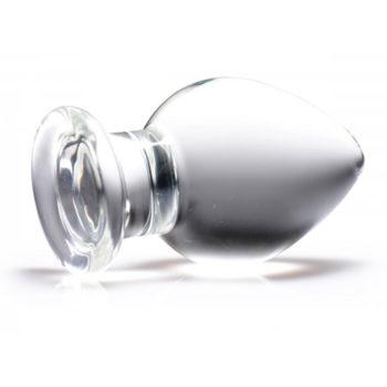 Molten - XL Glazen Buttplug