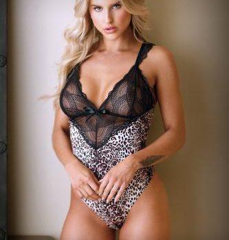 Lorena Body Met Kant - Panterprint