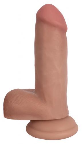 Realistische Dildo Met Balzak - 16.5 cm