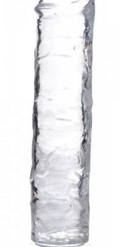 Jock C-Thru Transparante Dildo - 20 cm.