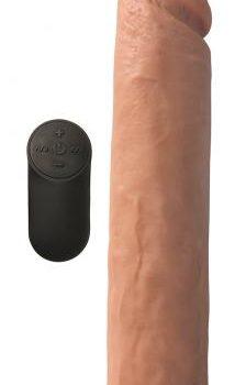 Vibrerende XL Dildo Met Zuignap - 26.6 cm