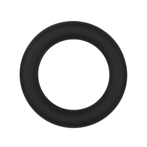 Easytoys Siliconen Cockring Medium - Zwart