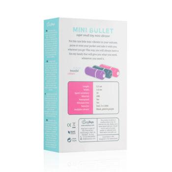 Bullet vibrator met 10 snelheden - paars