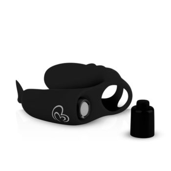 Vinger Vibrator - Zwart