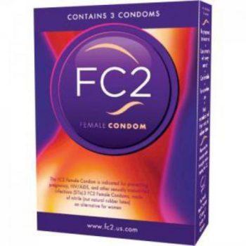 FC2 Vrouwen Condooms - 3 stuks