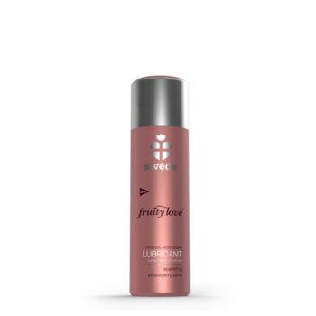 Bruisende Aardbeienwijn Waterbasis Glijmiddel - 50ml
