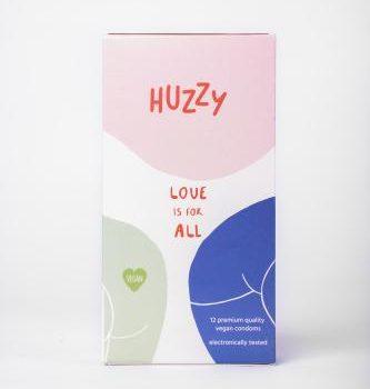 Huzzy 12 Pack Vegan Condooms