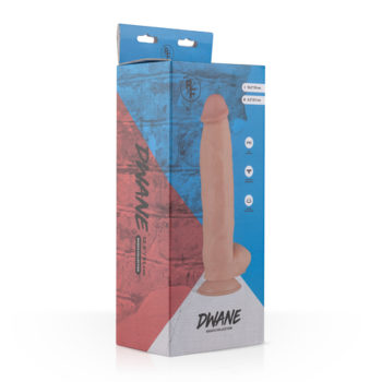 Dwayne Realistische Dildo Met Balzak - 24 cm