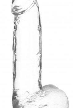 Crystal Addiction - Transparante Dildo - 20 cm