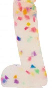 Addiction - Party Marty Confetti Dildo - 19 cm