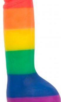 Addiction - Justin Rainbow Siliconen Dildo - 20 cm