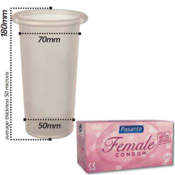 Pasante Female Condooms - 30 stuks