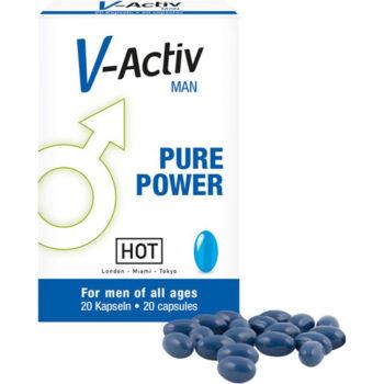 HOT V-Activ Pure Power Voor Mannen - 20 stuks