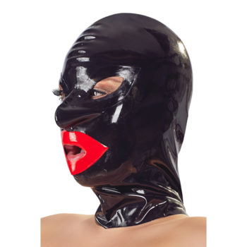 Bondage Hoofdmasker Met Lippen