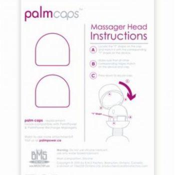 Palm Power - Siliconen Opzetstukken Palm Caps