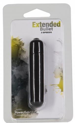 Extended Breeze Bullet Vibrator - Zwart