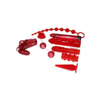Vibrator Set - Red Roses