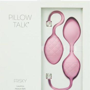 Pillow Talk - Frisky Pleasure Balls - Roze