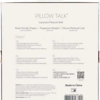 Pillow Talk - Frisky Pleasure Balls - Teal