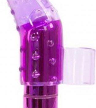 Frisky Vinger Vibrator Met Bullet - Paars