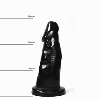 All Black Dildo 29 cm