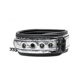 Platinum Bound Halsband Met Riem
