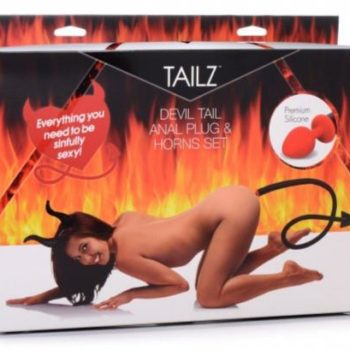 Devil Tail Anaalplug En Hoorntjes Set