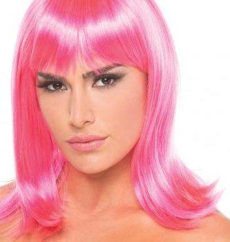 Doll Pruik - Roze
