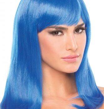 Hollywood Pruik - Blauw