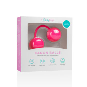 Canon Balls Vaginaballetjes Met Contragewicht - Roze