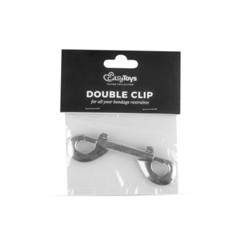 Dubbele Clip - Zilver