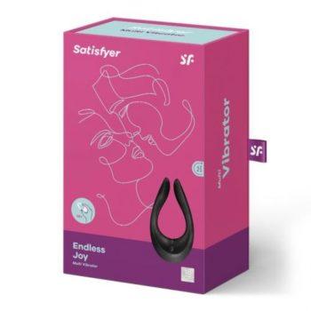 Satisfyer Endless Joy Multi Vibrator - Zwart