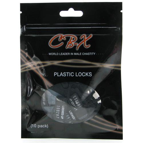 CB-X - Plastic Hangslotjes - 10 Stuks