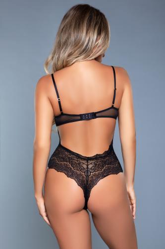 Ariella Kanten Body - Zwart