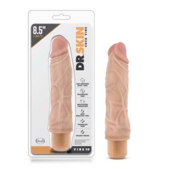 Dr. Skin - Cock Vibe no10 Vibrator - Beige