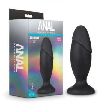 Anal Adventures Platinum - Silicone Rocket Grote Anaal Plug