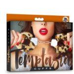Temptasia - Pluche Verstelbare Handboeien - Luipaard