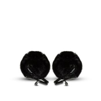 Noir - Verstelbare Tepelklemmen - Zwart